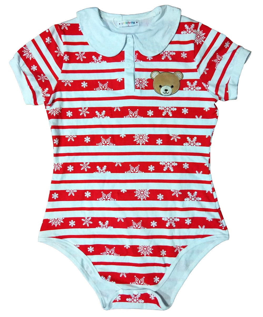 Littleforbig Adult Baby Amp Diaper Lover Snap Crotch Romper