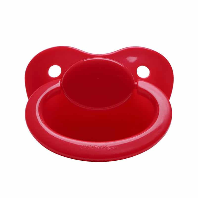 31669ef05e5 Generation 1 Adult Sized Red Pacifier - LittleForBig ABDL Adult Baby ...