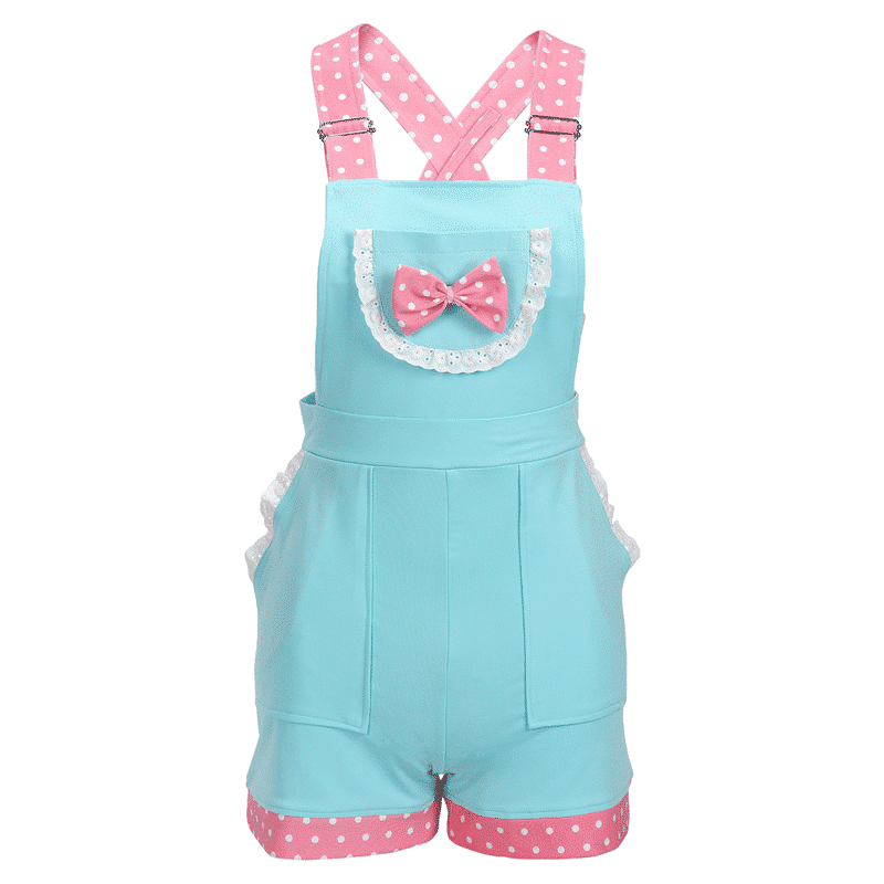 4aadddc5763 Little Darling Overall Shorts - LittleForBig ABDL Adult Baby Diaper Lover  Products