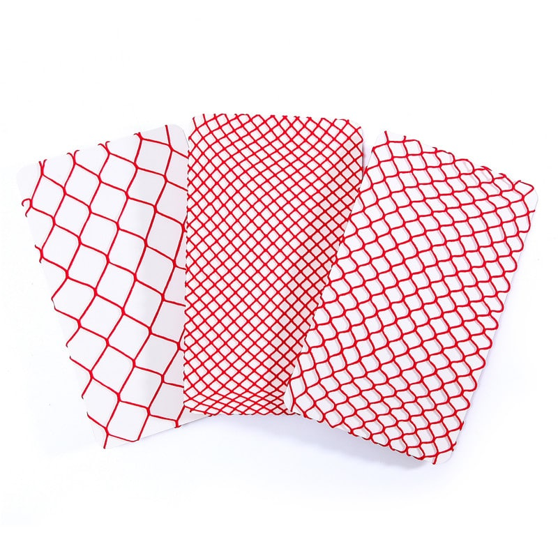 68540d3af High Waist Tights Fishnet Mesh Net Stockings 3 Pairs-Red ...