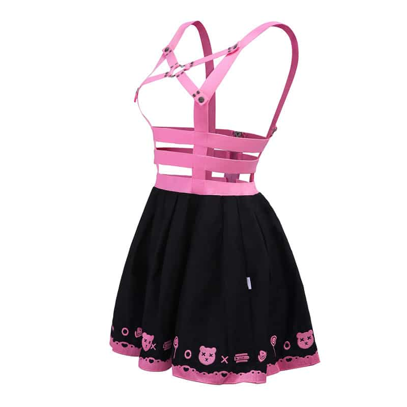 Bondage Teddy Bear Overall Skirt Littleforbig Abdl Adult